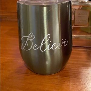 Other - 3 Christmas Wine Tumblers